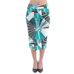 Challenge Midi Pencil Skirt by Lotus