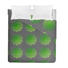 Atomic Green Duvet Cover Double Side (full/ Double Size)