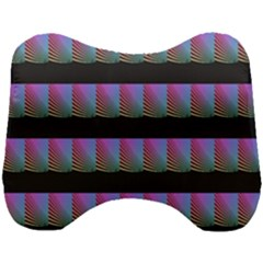 Digital Illusion Head Support Cushion