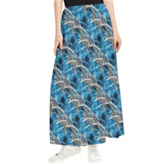 Abstract Illusion Maxi Chiffon Skirt by Sparkle