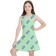Mobile Phone Kids  Lightweight Sleeveless Dress by Lotus