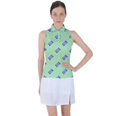 Mobile Phone Women s Sleeveless Polo Tee by Lotus