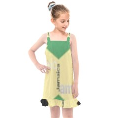Jamaica, Jamaica  Kids  Overall Dress