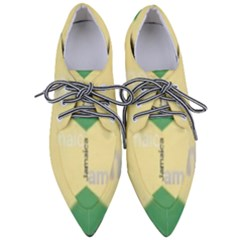 Jamaica, Jamaica  Pointed Oxford Shoes