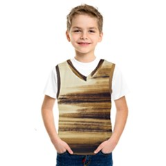 Paint On Charcoal Kids  Basketball Tank Top by Lotus