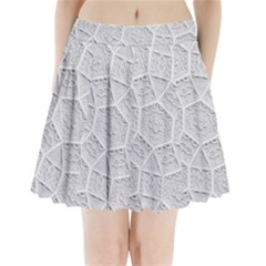 Wire Pleated Mini Skirt by Lotus