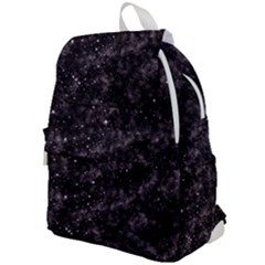 Pink Gray Galaxy Top Flap Backpack