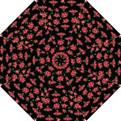 Red Roses Hook Handle Umbrellas (small)