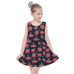 Red Roses Kids  Summer Dress
