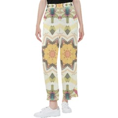 Cute Kaleidoscope Women s Pants  by Dazzleway