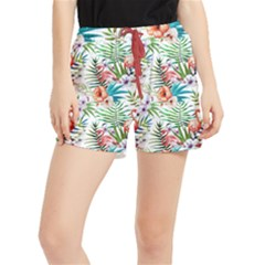 Tropical Flamingo Runner Shorts
