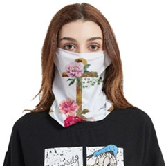 Flowers Anchor Face Covering Bandana (two Sides) by goljakoff