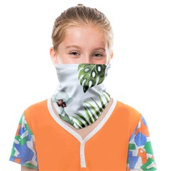 Flowers Face Covering Bandana (kids) by goljakoff