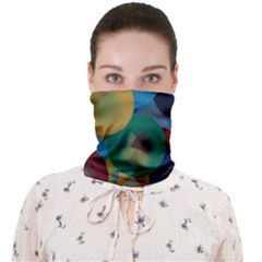 Kaleidoscope Face Covering Bandana (adult) by WILLBIRDWELL