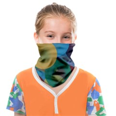 Kaleidoscope Face Covering Bandana (kids) by WILLBIRDWELL