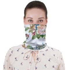 Vintage Flowers Face Covering Bandana (adult) by goljakoff