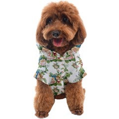 Vintage Flowers Pattern Dog Coat by goljakoff