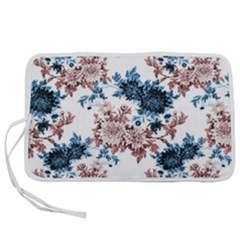 Blue And Rose Flowers Pen Storage Case (s) by goljakoff