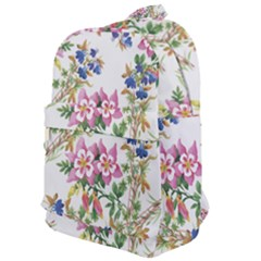 Garden Flowers Pattern Classic Backpack by goljakoff