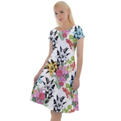 Summer Flowers Classic Short Sleeve Dress