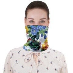 Flowers Face Covering Bandana (adult) by goljakoff