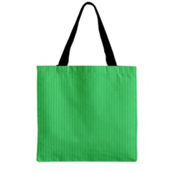 Algae Green & Black -  Grocery Tote Bag by FashionLane