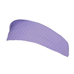 Bougain Villea Purple & Black - Stretchable Headband by FashionLane