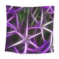 Neurons Brain Cells Imitation Square Tapestry (large)