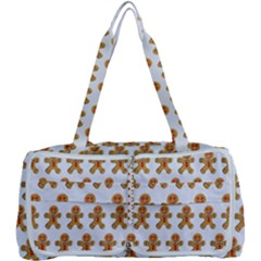 Gingerbread Men Multi Function Bag by Mariart