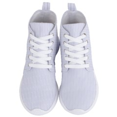 Brilliant White & Black - Women s Lightweight High Top Sneakers