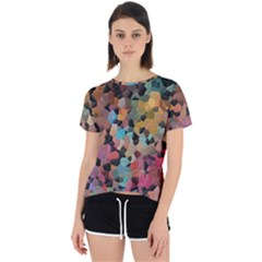 Mosaic Pieces                                                   Open Back Sport Tee