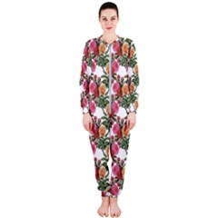 Flowers Pattern Onepiece Jumpsuit (ladies)  by goljakoff