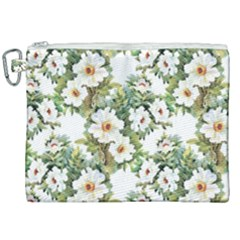 Summer Flowers Canvas Cosmetic Bag (xxl) by goljakoff