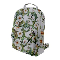 Summer Flowers Flap Pocket Backpack (large) by goljakoff