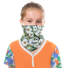 Summer Flowers Face Covering Bandana (kids) by goljakoff