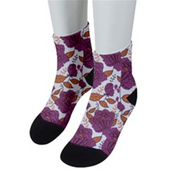 Rose Flowers Men s Low Cut Socks