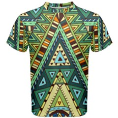 Native Ornament Men s Cotton Tee