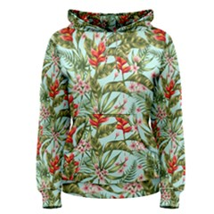 Tropical Flowers Women s Pullover Hoodie by goljakoff