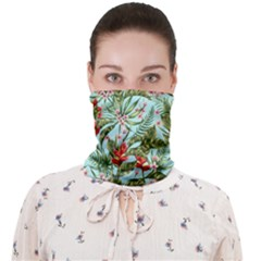 Tropical Flowers Face Covering Bandana (adult) by goljakoff