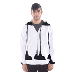 Lanterns Lamps Light Ceiling Men s Hooded Windbreaker