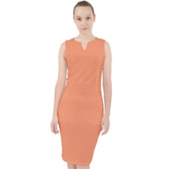 Atomic Tangerine ¨c Midi Bodycon Dress by FashionLane