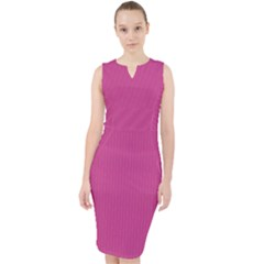 Smitten Pink - Midi Bodycon Dress by FashionLane