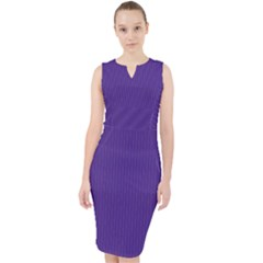 Spanish Violet - Midi Bodycon Dress by FashionLane