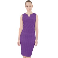 Eminence Purple - Midi Bodycon Dress by FashionLane