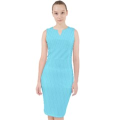 Arctic Blue - Midi Bodycon Dress by FashionLane