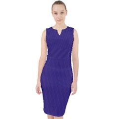 Berry Blue - Midi Bodycon Dress by FashionLane