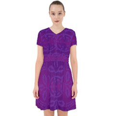 Cloister Advent Purple Adorable In Chiffon Dress