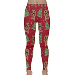 Gingerbread Krampus Classic Yoga Leggings