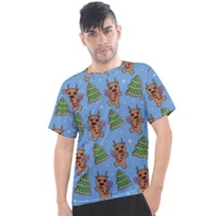 Gingerbread Krampus Men s Sport Top