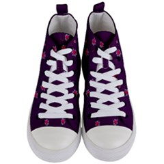 Love Is So Big In The Natures Mosaic Women s Mid-top Canvas Sneakers